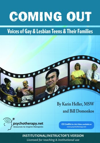 Coming Out: Voices of Gay and Lesbian Teens and their Families (Institutional/Instructor's Version)