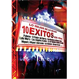 Lo Mejor de lo Mejor: 10 Exitos en Vivo