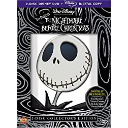 The Nightmare Before  (2-Disc Collector's Edition) + Digital Copy