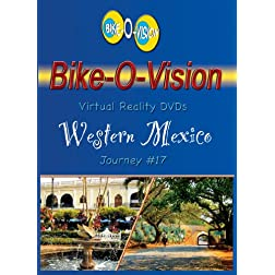 Bike-O-Vision Cycling DVD #17 Southwestern Mexico