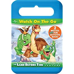 The Land Before Time: 2 Big Dino-Riffic Adventures Carrying Case