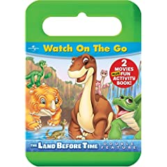 The Land Before Time: 2 Tales of Discovery and Friendship Carrying Case