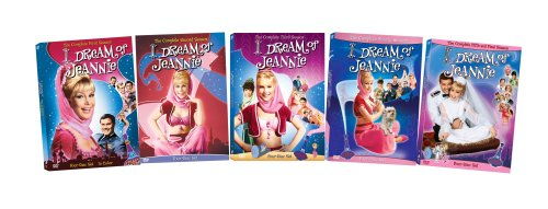 I Dream Of Jeannie Season 1-5 DVD Bundle