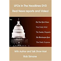 UFOs In The Headlines DVD