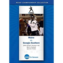 2002 NCAA Division I-AA  Men's Football Quarter Finals - Maine vs. Georgia Southern
