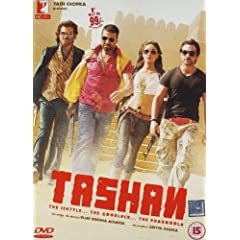 Tashan: The Ishtyle... The Goodluck... The Pharmoola DVD (With English Subtitles)