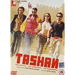Tashan: The Ishtyle... The Goodluck... The Pharmoola DVD (With English Subtitles)