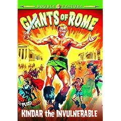 Giants of Rome (1964) / Kindar the Invulnerable (1964)