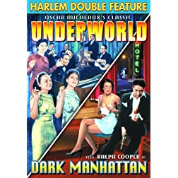 Harlem Double Feature: Underworld (1937) / Dark Manhattan (1937)