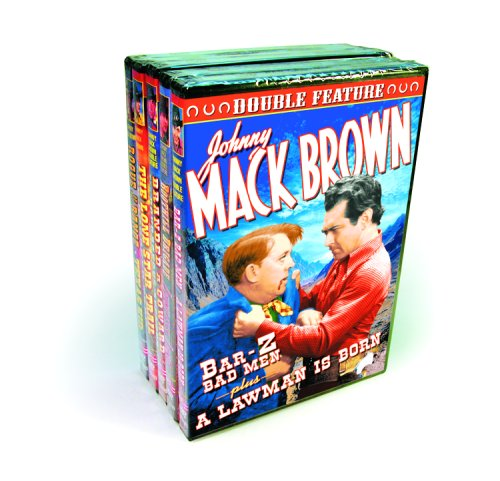 Brown, Johnny Mack Collection, Volume 1 (Bar-Z Bad Men / Boothill Brigade / Branded a Coward / Courageous Avenger / The Crooked Trail / Lawless Land / ... / Rogue of the Range / Texas Kid) (5-DVD)