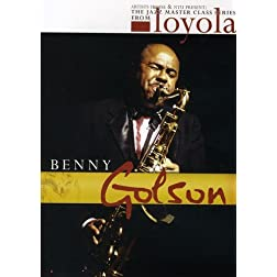 Benny Golson: The Jazz Master Class Series from NYU