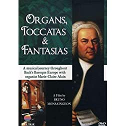 Organs, Toccatas & Fantasias / Johann Sebastian Bach, Marie-Claire Alain