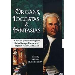 Organs, Toccatas & Fantasias / Johann Sebastian Bach, Marie-Claire Alain