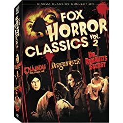 Fox Horror Classics Collection, Vol. 2 (Dragonwyck / Chandu the Magician / Dr. Renault's Secret)