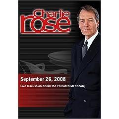 Charlie Rose (September 26, 2008)
