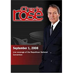 Charlie Rose -  Republican National Convention (September 1, 2008)