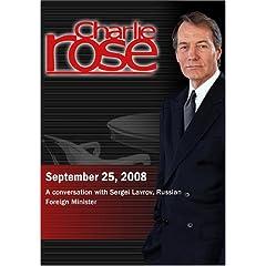 Charlie Rose (September 25, 2008)