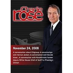 Charlie Rose (November 24, 2008)