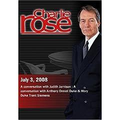 Charlie Rose (July 3, 2008)