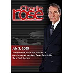 Charlie Rose (July 3, 2008)