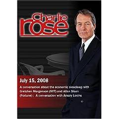 Charlie Rose (July 15, 2008)