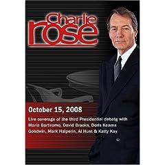 Charlie Rose (October 15, 2008)