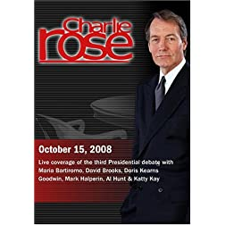 Charlie Rose (October 15, 2008)