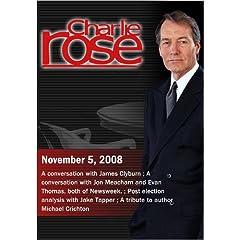 Charlie Rose (November 5, 2008)