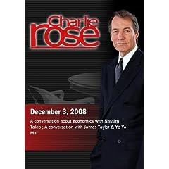 Charlie Rose (December 3, 2008)