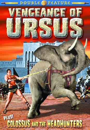 Gladiator Double Feature: Vengeance Of Ursus (1963) / Colossus and the Headhunters (1960)