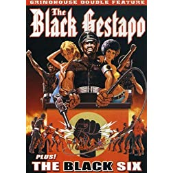 Grindhouse Double Feature: Black Gestapo (1975) / The Black Six (1974)