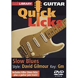 Guitar Quick Licks - David Gilmour, Slow Blues
