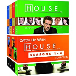 House: Seasons 1 - 4 Collection