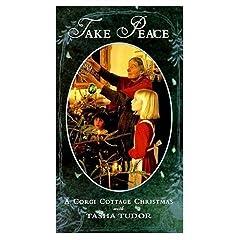 Take Peace - A Corgi Cottage Christmas with Tasha Tudor