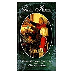 Take Peace - A Corgi Cottage Christmas with Tasha Tudor