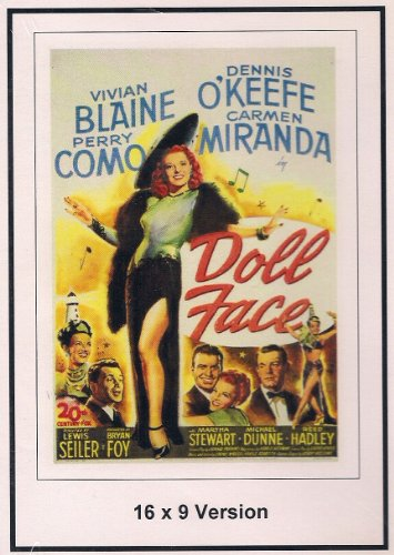 Doll Face 16x9 Widescreen TV