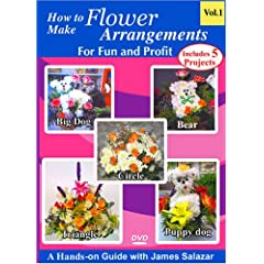 How To Make Flower Arrangements For Fun And Profit Volume 1