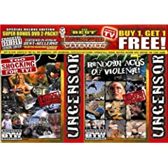 Backyard Wrestling V. 3 & 4 (Side by Side) Super Bonus 2 Pack
