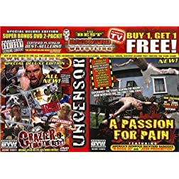 Backyard Wrestling: V. 5 &PP (Side by Side) Super Bonus 2 Pack