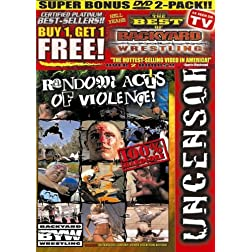 Backyard Wrestling: V. 3 & 4 Super Bonus 2 Pack