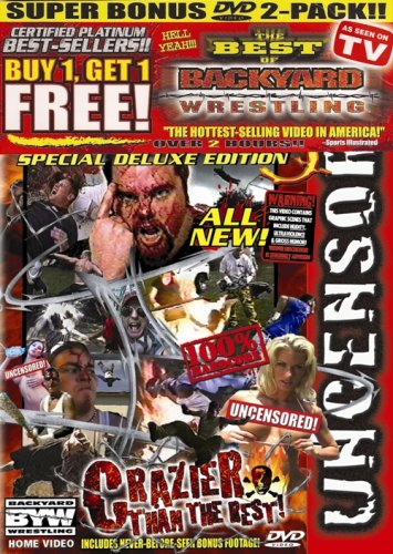 Backyard Wrestling: V. 5 & PP Super Bonus 2 Pack