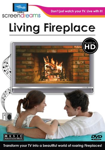 Screen Dreams:Living Fireplace