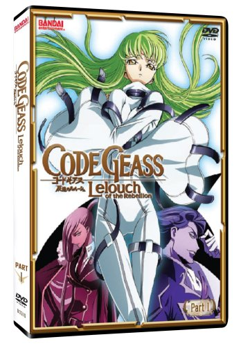Code Geass Leouch of the Rebellion Part 1 (2pc)