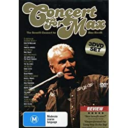 Benefit Concert for Max Merritt (3 DVD)