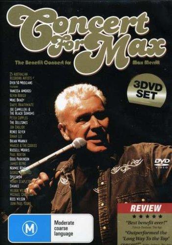 Benefit Concert for Max Merritt (3 DVD)