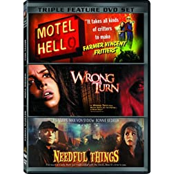 You're Not from Around Here Are You? Triple Feature