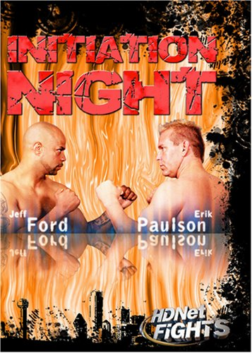 HDNet Fights: Initiation Night  3 DVD set (WMVHD)