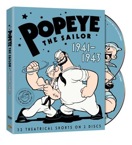 Popeye the Sailor: 1941-1943, Vol. 3
