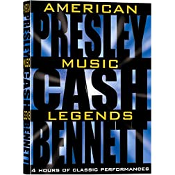 American Music Legends Box Set (Johnny Cash, Elvis Presley, Tony Bennett