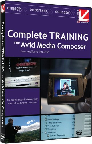 Class on Demand 2008: Complete Training for Avid Media Composer Educational Training Tutorial DVD: Includes Lessons for Avid Xpress Pro users Moving to Media Composer
